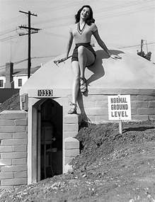 fairfax homes with 1950s style fallout bomb shelters