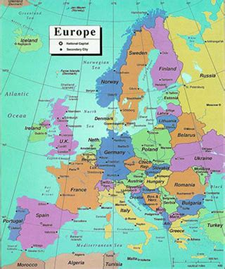 germany europe map germany and its european context global studies and