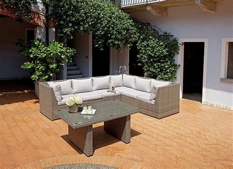 occasioni arredo giardino occasione mobili da giardino in rattan mobili da esterno