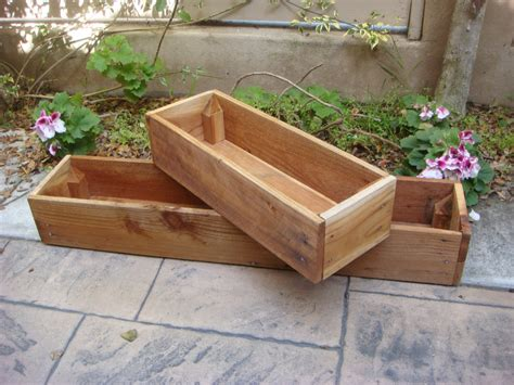 Wooden Garden Planters Ideas Diy Wood Planter Boxes For Indoor Or Outdoor Garden House Design Ideas