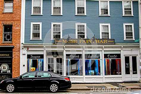 Muse Paintbar Providence Ri Editorial Stock Photo