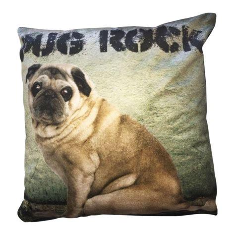 rock pug rock roll pug pug rock cushion cover tonys textiles