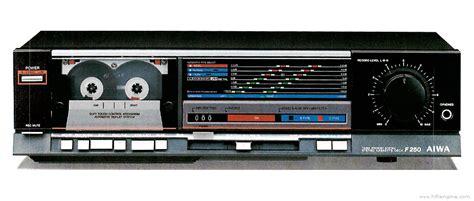 aiwa cassette deck aiwa ad f250 manual stereo cassette deck hifi engine