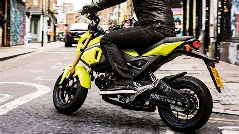 Motorrad Honda 125 Ccm by Honda Msx125 New Look Bike With Attitude Honda Uk