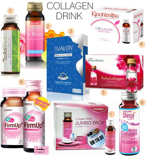 Total Image Collagen Drink 8 collagen drinks in malaysia jewelpie