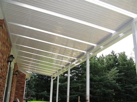 Patio Roofing Panels by Solid Patio Covers