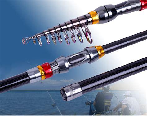 Telescopic Pole Sea Fishing Rod 36m zanlure tsr 01 telescopic fishing rod carbon spinning sea