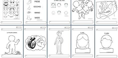 didattica web lettere schema corporeo scuola dell infanzia schede didattiche