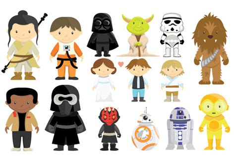 printable star wars characters language arts reading and writing link ib world school