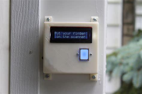 Biometric Garage Door Opener Fingerprint Scanning Garage Door Opener