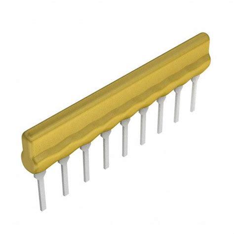 resistor array through resistor networks arrays