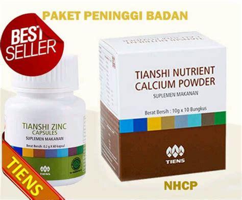 Obat Peninggi Badan distributor jual obat peninggi badan tiens termurah nhcp zinc capsule jual