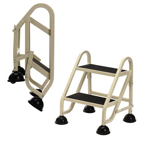 Rolling Step Stool by Rolling Step Ladder 2 Step In Step Stools