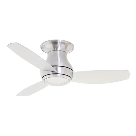 44 inch outdoor ceiling fan emerson curva sky 44 inch brushed steel modern indoor