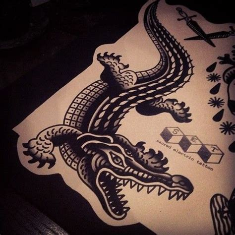 tribal crocodile tattoo 25 best ideas about alligator on