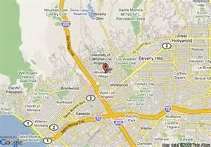 map of w los angeles westwood los angeles
