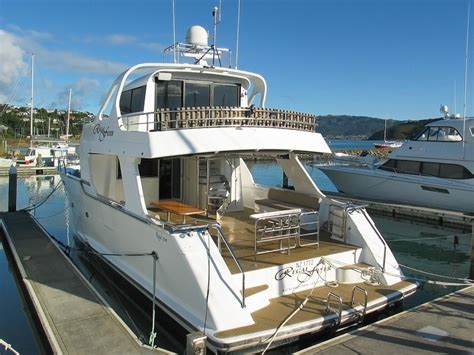 fishing boat hire taupo regal flyer charter boat lake taupo 65ft motor launch