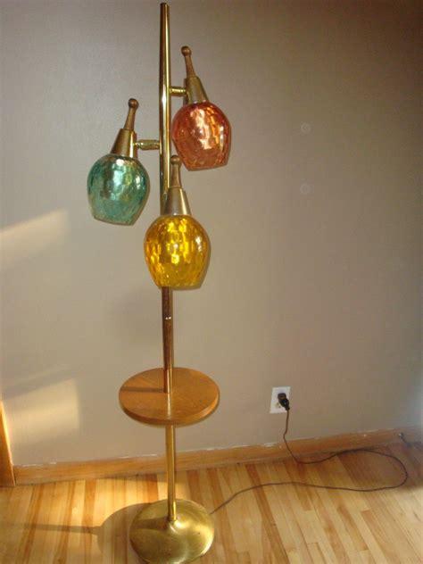 mid century globe floor l mid century modern floor lamp 3 glass globes teak