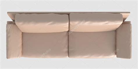 sofa draufsicht renderiza 231 227 o de sof 225 vista superior isolada no branco