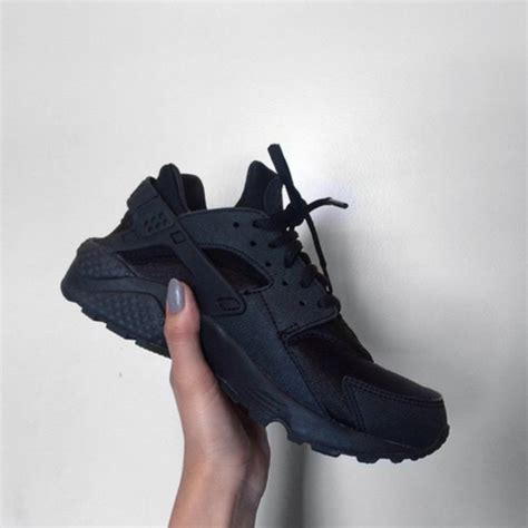 shoes nike tennis shoes nike shoes black black shoes