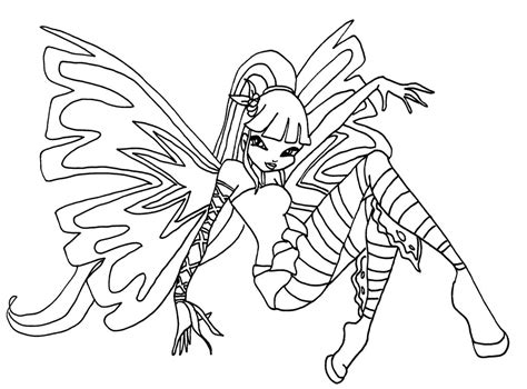 club winx club az coloriage