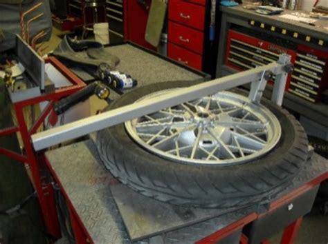 homemade motorcycle tire bead breaker