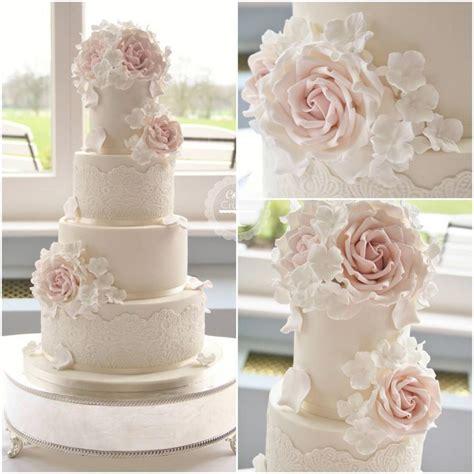 Wedding Cakes Roses by Hochzeitstorten Lace Hochzeitstorte 2057264