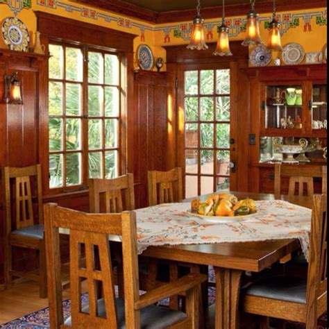 Arts And Crafts Dining Room Arts Crafts Dining Room