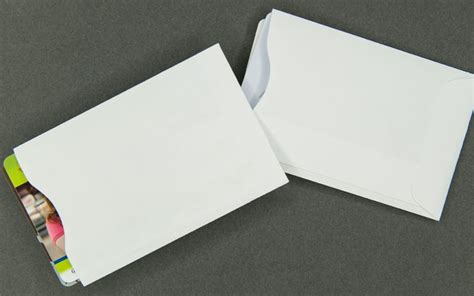 plain white card sleeve paper for 2 cards archives