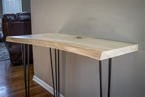 custom made sofa tables buy a handmade live edge sofa table console table made to