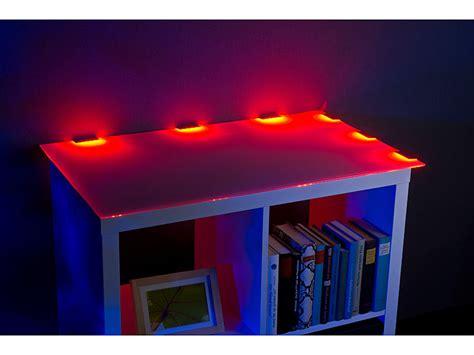 schrankbeleuchtung mit fernbedienung lunartec schrankbeleuchtung led glasbodenbeleuchtung mit