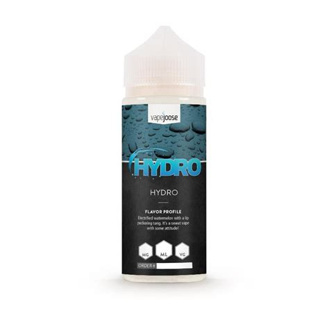 Swetty Hydro hydro e liquid by vapejoose review mondos vapo