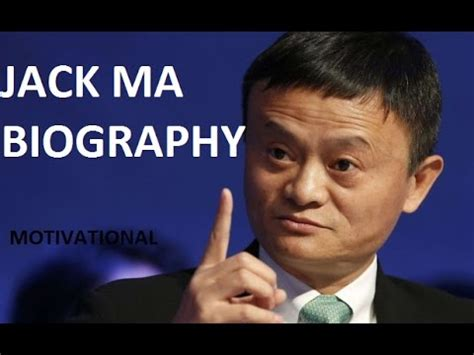 jack ma short biography jack ma biography in hindi motivational video youtube