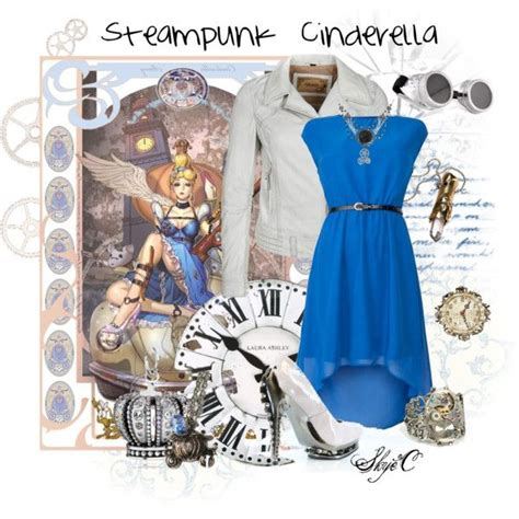pin by inspired by disney quot steunk cinderella inspired outfit quot by rubytyra on