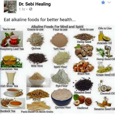 Alkaline Detox Hervs To Cleanse Cells by Dr Sebi S Cell Food Food Alkaline Diet And Vegans