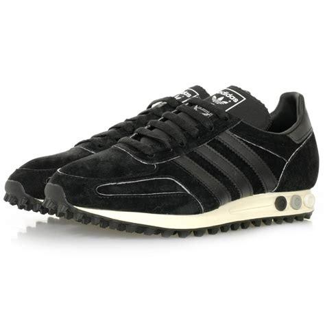 adidas originals la trainer og black shoe