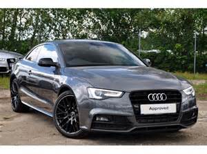 used audi a5 coupe 2 0 tdi black edition plus 177ps for