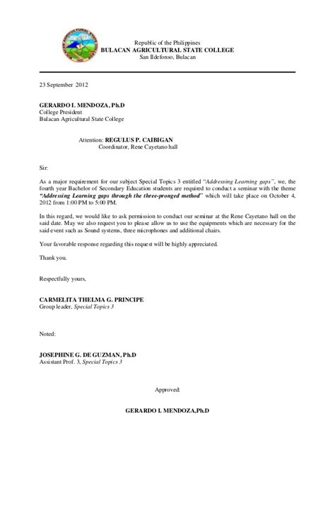 Permission Letter To Attend Graduation Communication Letter For Guest Speaker 3