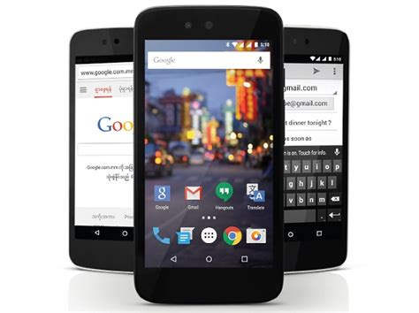 mobile photo s android one reaches myanmar with cherry mobile