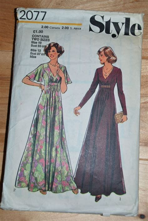 sewing pattern free pinterest maxi dress retro 1970s and 1980s sewing patterns pinterest