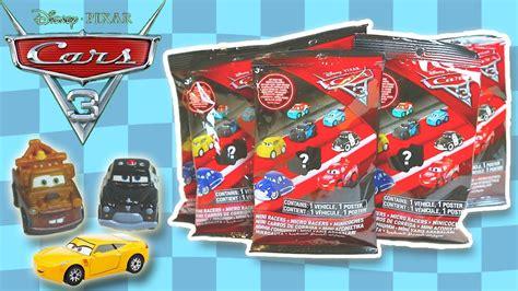Disney Cars 3 Mini Racers Blind Bag 01 Lightning Mcqueen disney pixar cars 3 mini racers blind bags