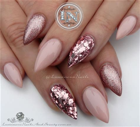 Nail Designs by Luminous Nails Gold Coast Qld Gold Nails