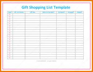 Christmas Present List Template Christmas Gift Shopping List Pictures To Pin On Pinterest