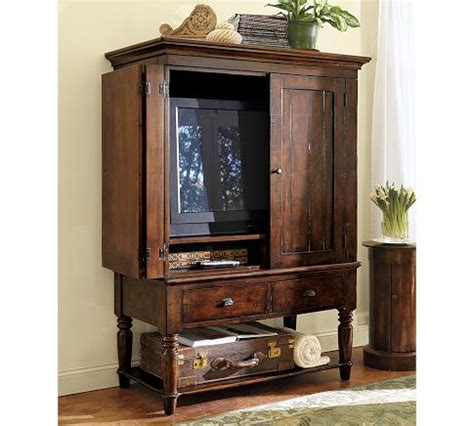 the rustic media armoire