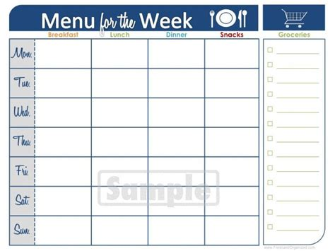Blank Two Week Calendar