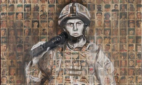 Faces Of The Fallen A An Artist In Afghanistan To Tell The Story You Ve Got