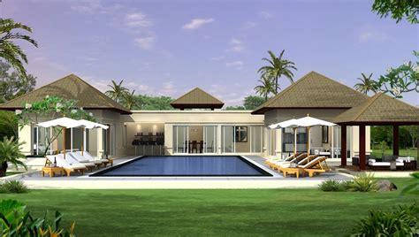desain rumah nyaman dan asri desain rumah asri dengan kolam renang dan taman