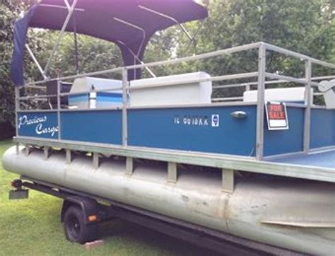 pontoon boat trailer for sale illinois pontoon boat illinois benton boat vehicle deal