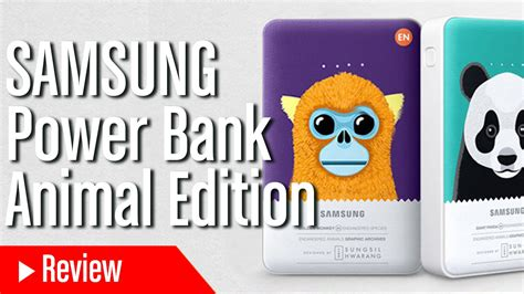 Power Bank Samsung Animal Edition probamos la nuevas bater 237 as samsung power bank animal edition