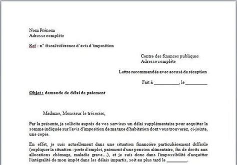 Exemple De Lettre Administrative Demande D Emploi T 233 L 233 Charger Mod 232 Le Lettre Demande De D 233 Lai De Paiement Taxe D Habitation Pour Windows Freeware